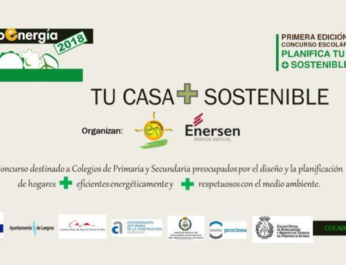 ENERSEN organizadora del concurso diseña «TU CASA + SOSTENIBLE».